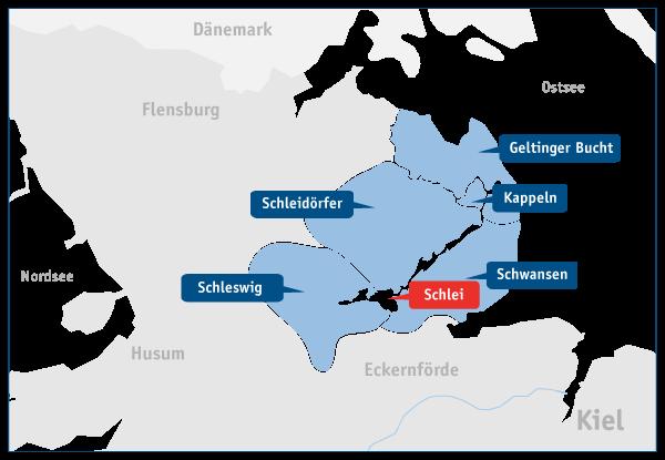 Wo Liegt Schwanitz Ostsee Karte.Städte An Der Ostsee Kappeln Schleswig